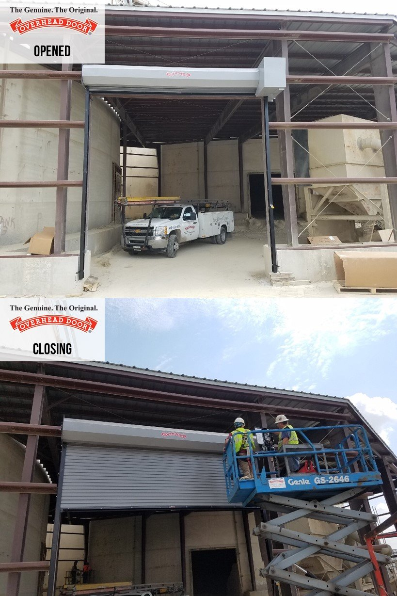 Overhead Door™ Model 625 Rolling Steel Doors Are Heavy Duty And An Ideal  Choice For Applications Requiring A Moderate Level Of Thermal Protection.