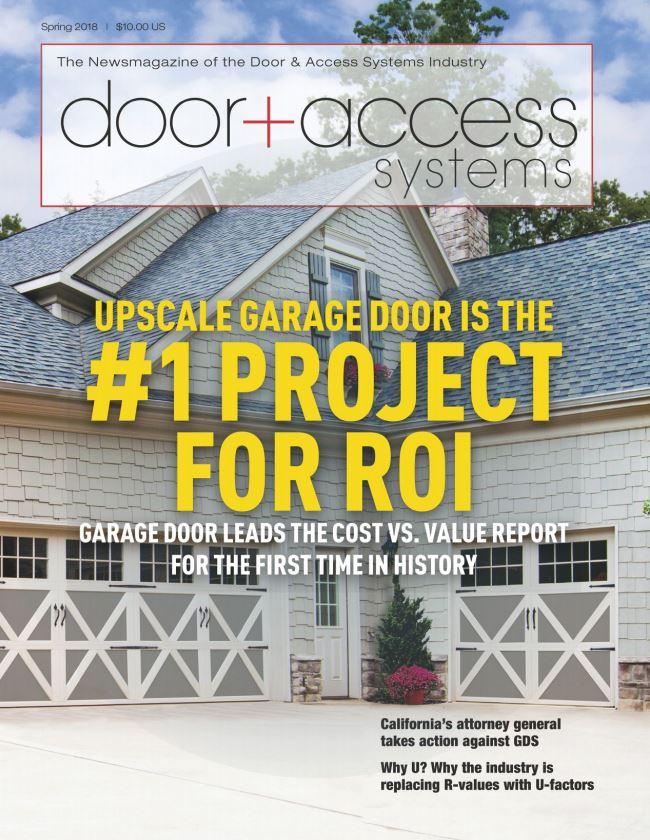 Look for Overhead Door™ in Door + Access Systems Magazine
