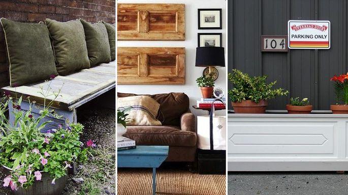 Creative Ways To Repurpose Your Old Garage Door Overhead Company Of Joliet